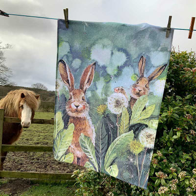 Alex Clark Tea Towels Tea Towel Little Rabbits