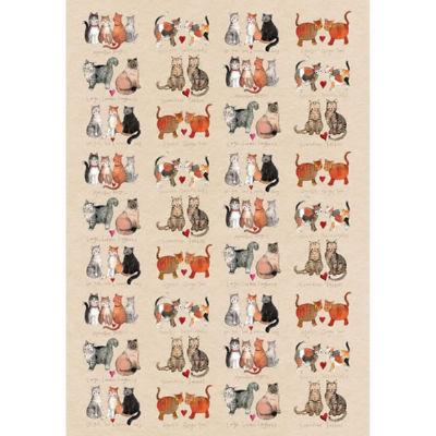 Alex Clark Tea Towels Tea Towel Marvellous Moggies