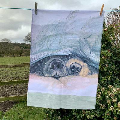 Alex Clark Tea Towels Tea Towel Snouts