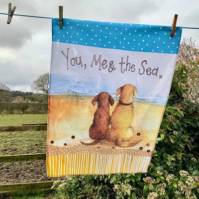 Alex Clark Tea Towels Tea Towel You, Me & The Sea