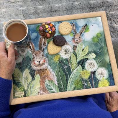 Alex Clark Trays Lap Tray Little Rabbits