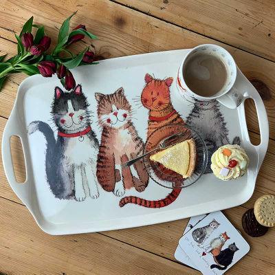 Alex Clark Trays Tray Large Cats