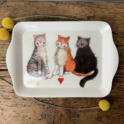 Alex Clark Trays Tray Small Cats