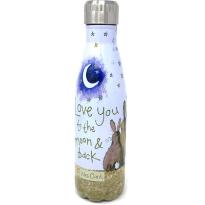 Alex Clark Water Bottles Water Bottle Love You To The Moon And Back