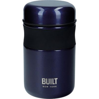 Built Hydration Food Flask Midnight Blue