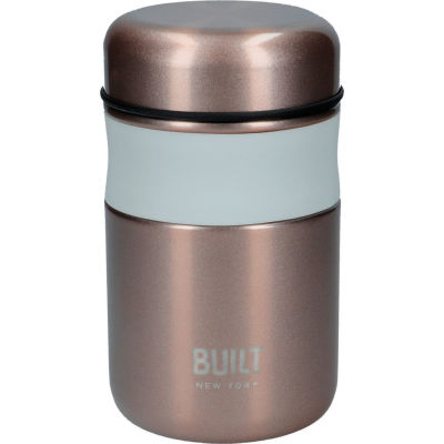 Built Hydration Food Flask Rose Gold