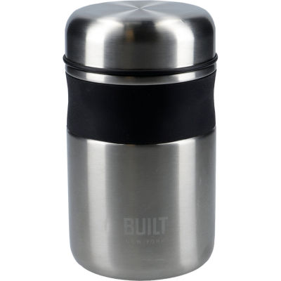 Built Hydration Food Flask Silver