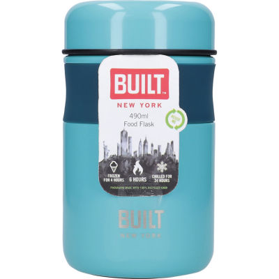 Built Hydration Food Flask Teal Blue