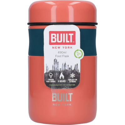 Built Hydration Food Flask Tropic Pink
