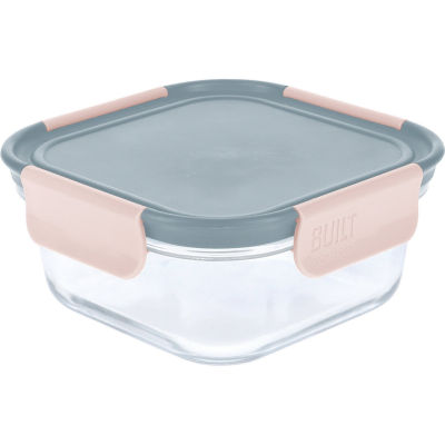 Built Hydration Glass Lunch Box Medium 0.7L Mindful Grey