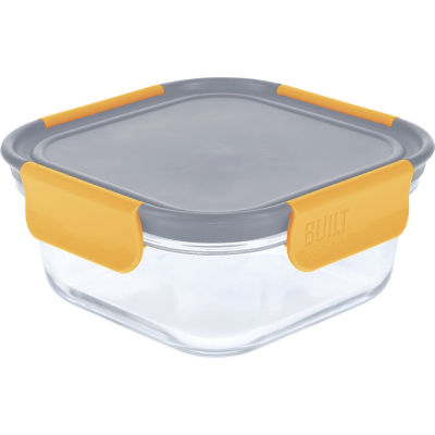 Built Hydration Glass Lunch Box Medium 0.7L Stylist Grey