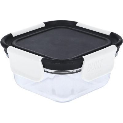 Built Hydration Glass Lunch Box Small 0.3L Classic Black