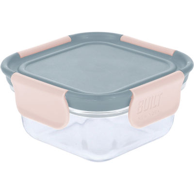 Built Hydration Glass Lunch Box Small 0.3L Mindful Grey