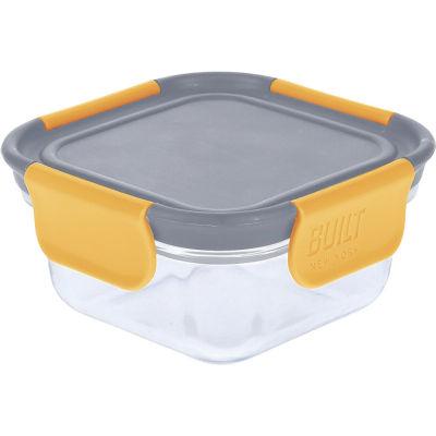 Built Hydration Glass Lunch Box Small 0.3L Stylist Grey