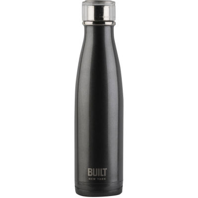 Built Hydration Insulated Bottle 0.5L Charcoal Grey