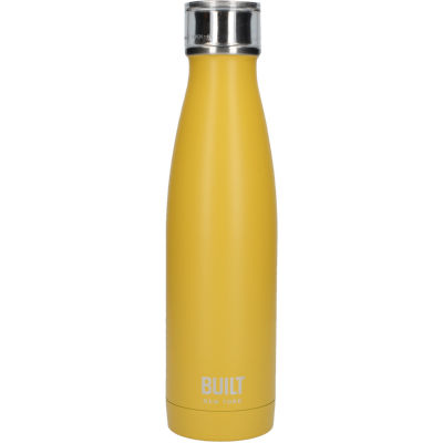 Built Hydration Insulated Bottle 0.5L Mustard Yellow