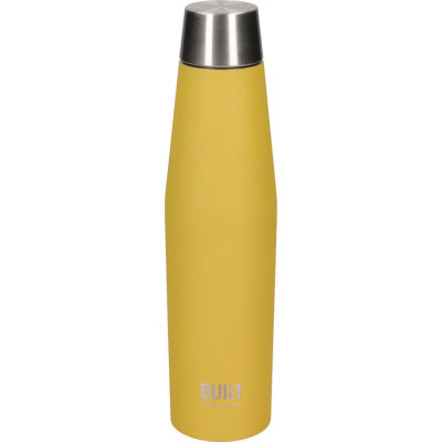 Built Hydration Insulated Bottle 0.54L Eco Lid Mustard Yellow