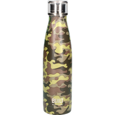 Built Hydration Insulated Bottle 0.5L Camo