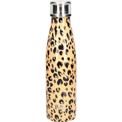 Built Hydration Insulated Bottle 0.5L Leopard