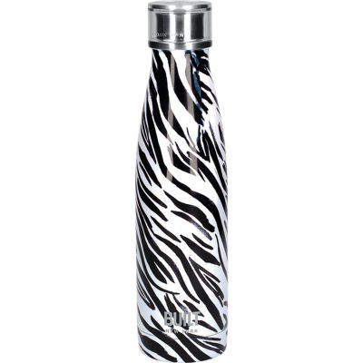 Built Hydration Insulated Bottle 0.5L Zebra