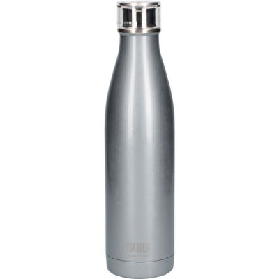 Built Hydration Insulated Bottle Large 0.74L Silver
