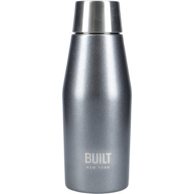 Built Hydration Insulated Mini Bottle 0.33L Eco Lid Charcoal Grey