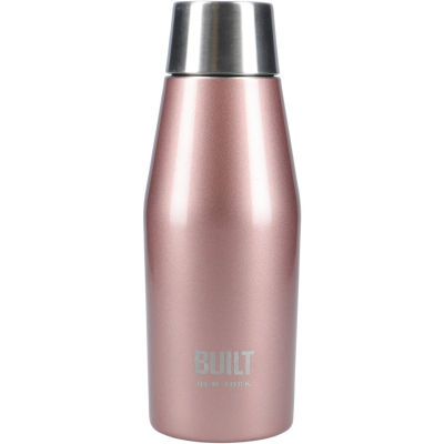 Built Hydration Insulated Mini Bottle 0.33L Eco Lid Rose Gold