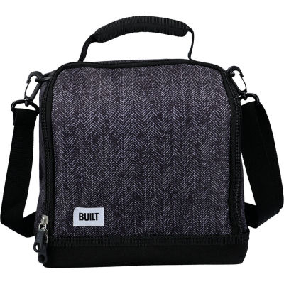 Built Hydration Lunch Bag Large 8L Classic Black