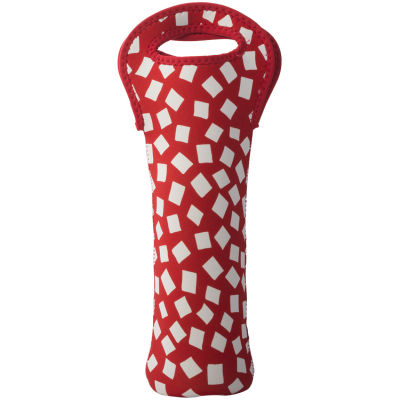 Built Hydration One Bottle Wine Tote Red Confetti