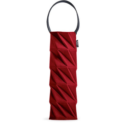 Built Hydration One Bottle Wine Tote Red Origami