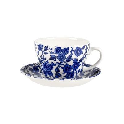 Burleigh Blue Arden Breakfast Cup & Saucer