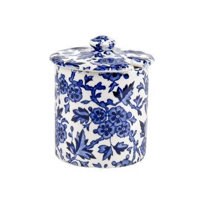 Burleigh Blue Arden Covered Sugar Bowl