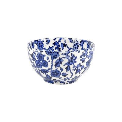 Burleigh Blue Arden Open Sugar Bowl Large