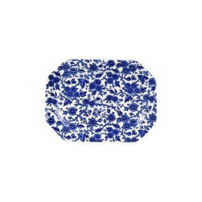 Burleigh Blue Arden Rectangular Platter 25cm