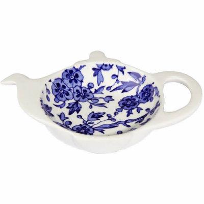 Burleigh Blue Arden Teabag Holder