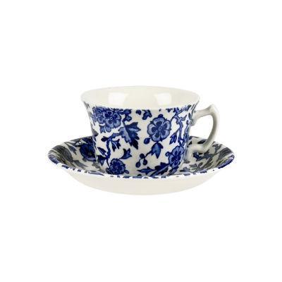 Burleigh Blue Arden Teacup & Saucer
