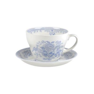 Burleigh Blue Asiatic Pheasants  Breakfast Cup & Saucer