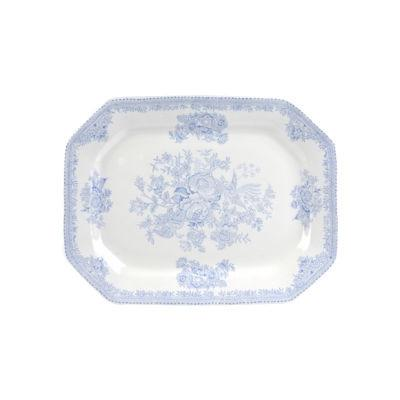 Burleigh Blue Asiatic Pheasants  Rectangular Platter 25cm