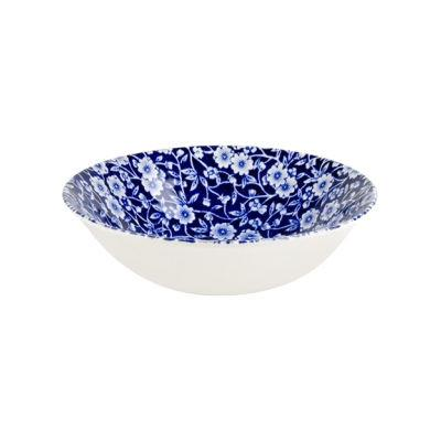 Burleigh Blue Calico Cereal Bowl 16cm