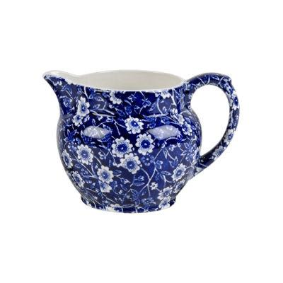 Burleigh Blue Calico Dutch Jug Small