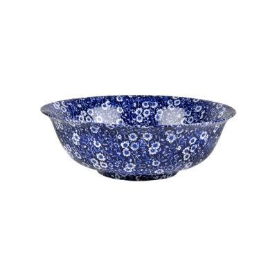 Burleigh Blue Calico Fruit Bowl