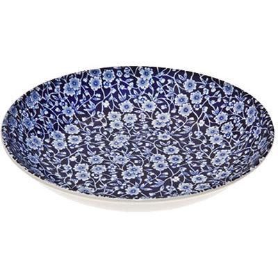 Burleigh Blue Calico Pasta Bowl 23cm