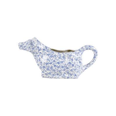 Burleigh Blue Felicity  Cow Cream Jug Boxed