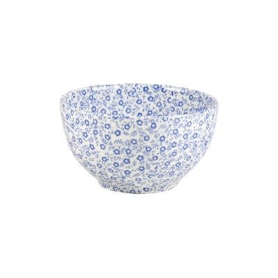 Burleigh Blue Felicity  Open Sugar Bowl Large