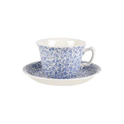 Burleigh Blue Felicity  Teacup & Saucer