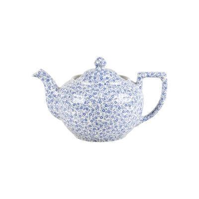 Burleigh Blue Felicity  Teapot Large