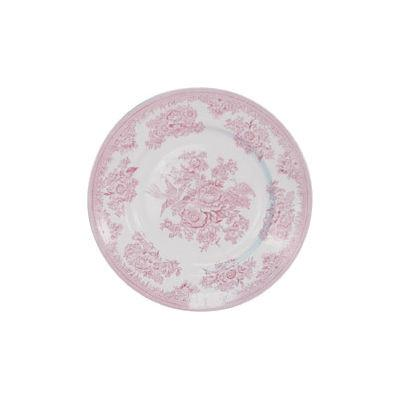Burleigh Pink Asiatic Pheasants  Lunch Plate 22cm