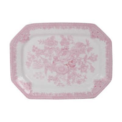 Burleigh Pink Asiatic Pheasants  Rectangular Platter 25cm