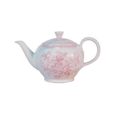 Burleigh Pink Asiatic Pheasants  Teapot Small