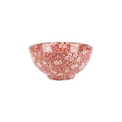Burleigh Red Calico Chinese Bowl Medium